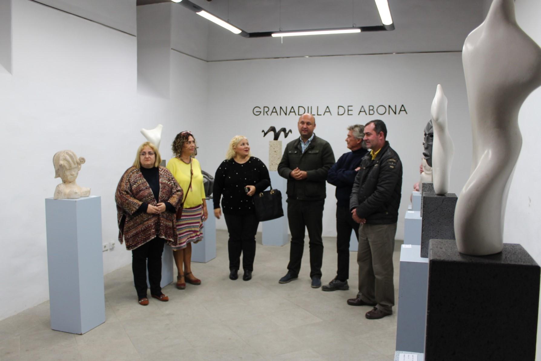 El taller de escultura de Guillermo Batista expone en el Convento Franciscano