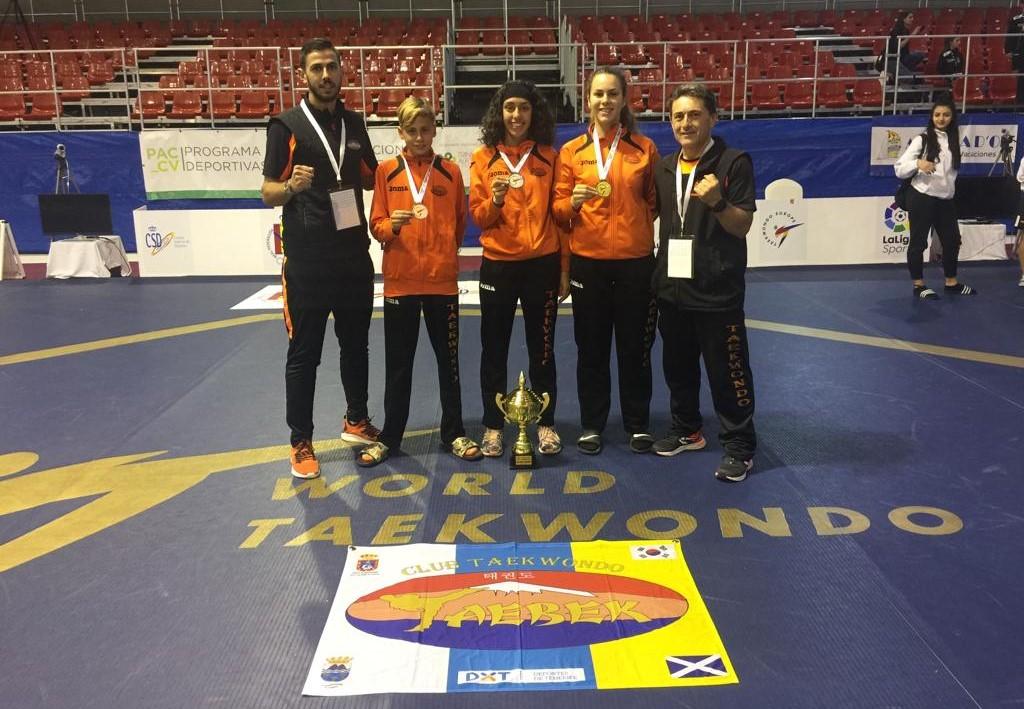 El taekwondo granadillero en racha en el campeonato europeo