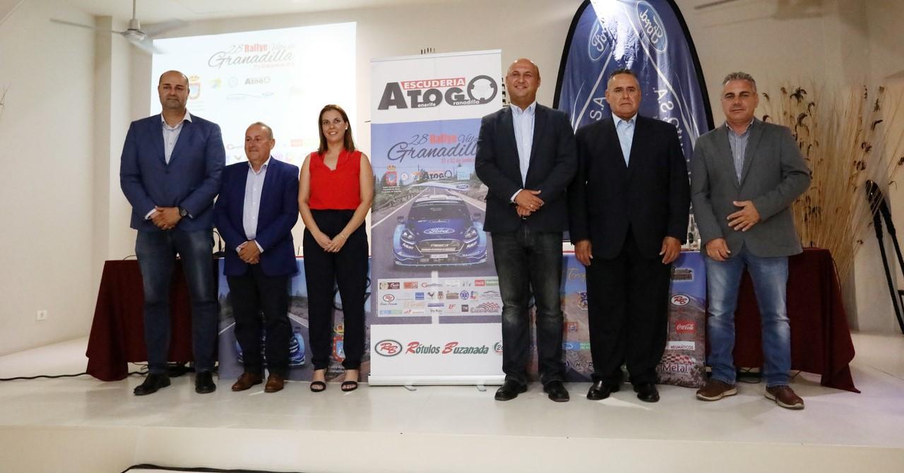 Puesta en marcha oficial del 28º Rally Villa Histórica de Granadilla de Abona
