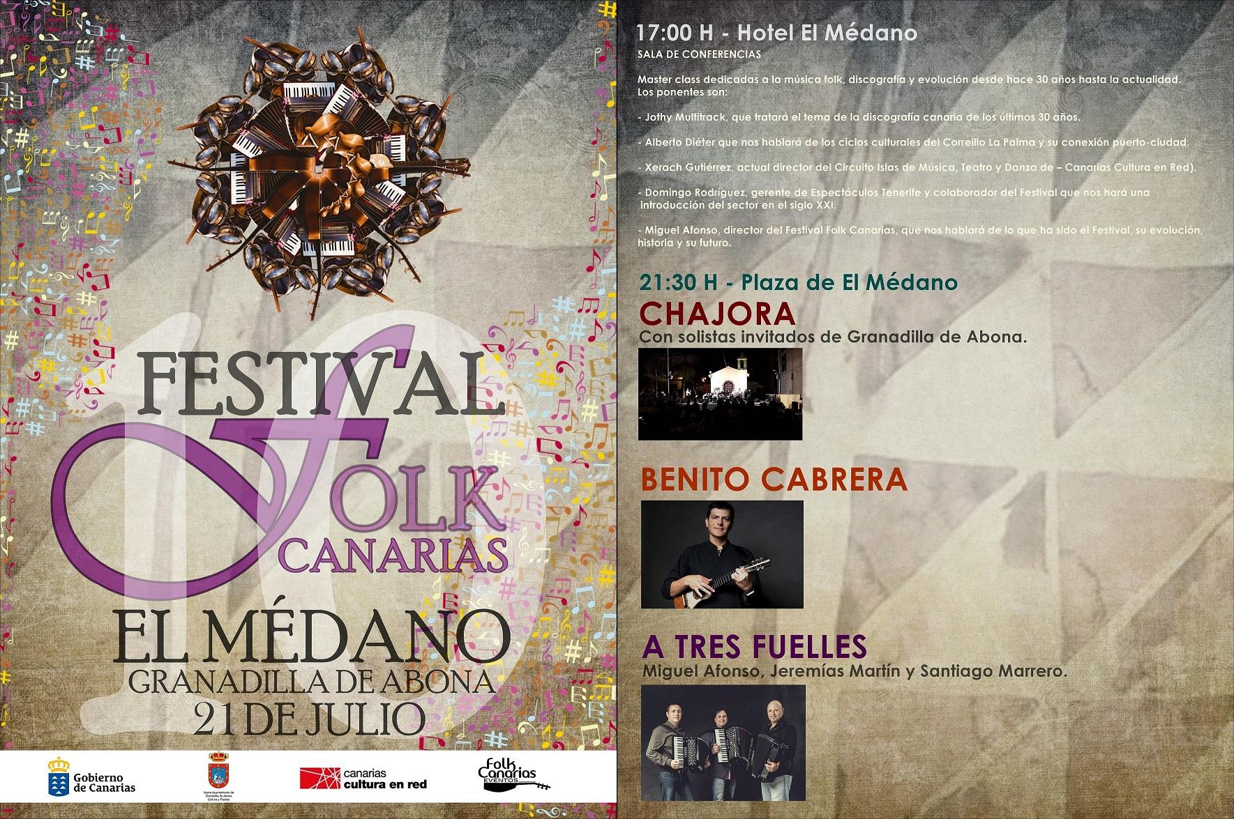 X Edición Festival Folk Canarias 2017